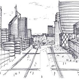 The business district west of Paris - 16/09/14