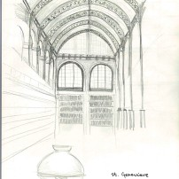 St. Genevieve library at the Panthéon - 22/08/2014